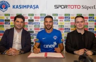 Kasımpaşa'dan yeni transfer! 2 yıllık anlaşma sağlandı