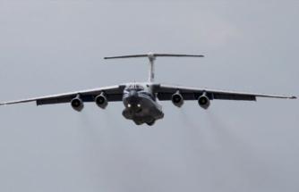 S-400 sevkiyatınde 15. uçak Mürted'e indi
