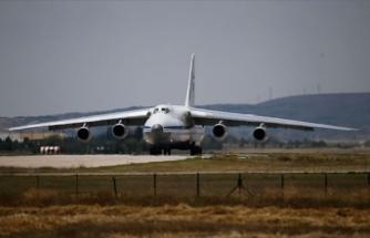 S-400 sevkiyatı sürüyor... Bir uçak daha Mürted'e indi