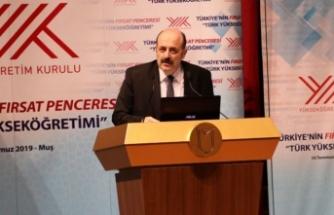 YÖK Başkanı Saraç'a sürpriz berat