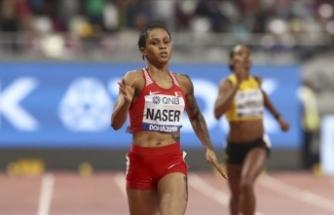 Dünya şampiyonu kadın atlete geçici men
