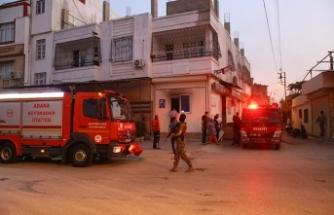 Aile sağlığı merkezinde yangın: Özel harekatta olay yerinde