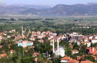 Burdur'da bir belde karantinaya alındı