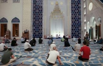 Büyük Çamlıca Camisi'nde 15 Temmuz şehitleri için mevlit okutuldu
