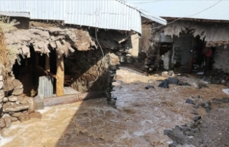 Kars ve Ağrı'da meydana gelen selde 26 ev hasar gördü