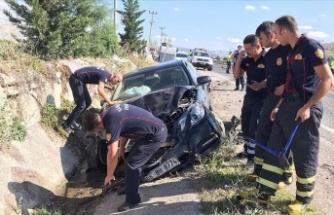 Kırşehir'deki feci kaza iki çocuğu öksüz bıraktı
