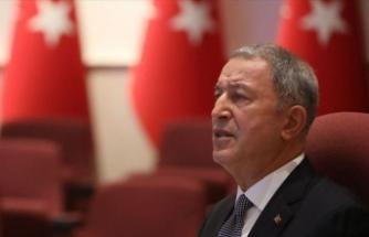 Milli Savunma Bakanı Akar'dan Pençe-Kaplan Operasyonu şehidi için başsağlığı mesajı