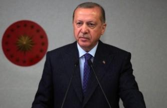 Erdoğan'dan Pençe-Kaplan Operasyonu şehidinin ailesine başsağlığı mesajı