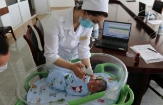 TİKA'dan Tacikistan'da anne çocuk sağlığına destek