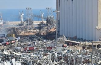 Türkiye'den patlamanın yaralarını sarmaya çalışan Lübnan'a buğday desteği