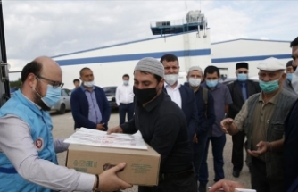 Türkiye Diyanet Vakfı Rusya'da kurban eti dağıttı