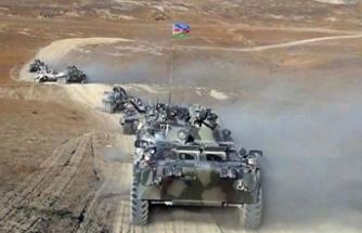 Türkiye ve Azerbaycan'ın tatbikatında temsili düşman saldırısı püskürtüldü