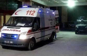 112 Acil Sağlık ekibine taşlı sopalı saldırı