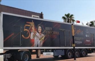 Altın Portakal Sinema Tırı sinemaseverlerle buluşuyor