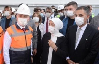 Bakanı Karaismailoğlu Malatya'da incelemelerde bulundu