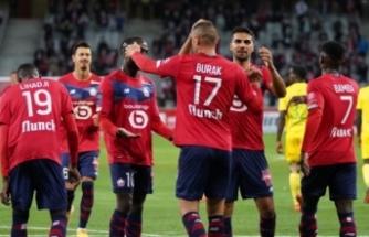 Burak Yılmaz Lille formasıyla golle tanıştı