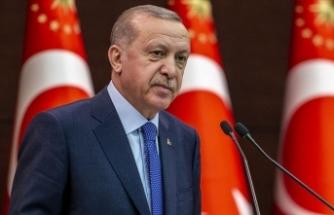 Cumhurbaşkanı Erdoğan'dan Azerbaycan'a destek veren siyasi partilere teşekkür