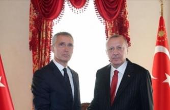 Cumhurbaşkanı Erdoğan, NATO Genel Sekreteri Jens Stoltenberg ile görüştü