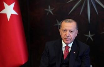 Cumhurbaşkanı Erdoğan: Türk milleti tüm imkanlarıyla Azerbaycanlı kardeşlerinin yanındadır