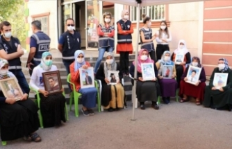 Diyarbakır anneleri Kobani operasyonlarına destek verdi