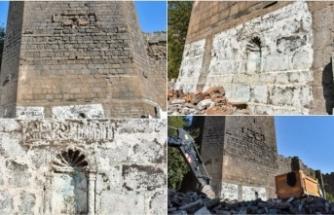 Diyarbakır'da La ilahe illallah Muhammed Resulullah yazılı kitabe tespit edildi