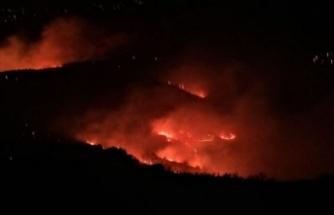 Elazığ'da Mastar Dağı'nda yangın