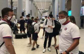 Hajduk Split İstanbul'a geldi