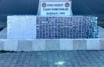 Hudut hatlarında ele geçirildi geçirildi: 19 bin 220 paket!