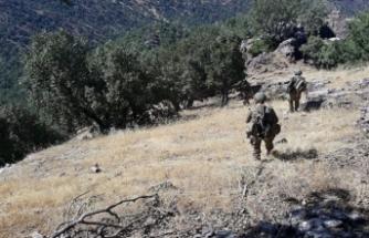 Irak'ın kuzeyinde PKK'ya ait çok sayıda mühimmat ele geçirildi