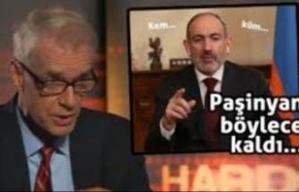 Paşinyan, BBC sunucusunun sözleri karşısında donup kaldı