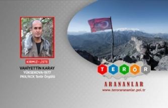 PKK'nın sözde Botan saha sorumlusu Vahiyettin Karay etkisiz hale getirildi