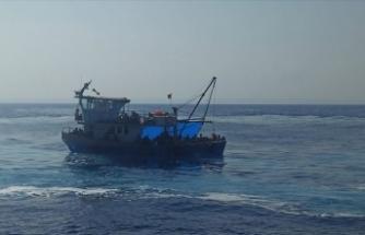 Silifke'de 90 düzensiz göçmen yakalandı