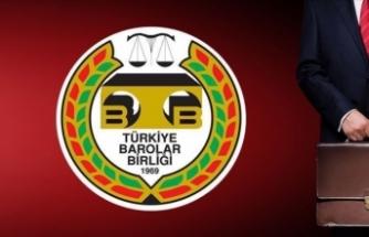 Türkiye Barolar Birliği yetkiyi verdi