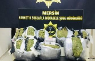 132 kilogram uyuşturucu ele geçirildi