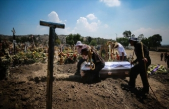 3 ülkede Kovid-19 salgınında son 24 saatte 2695 ölüm!