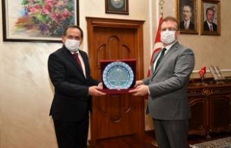 Adalet Bakan Yardımcısı Yılmaz'dan Samsun Büyükşehir Belediye Başkanı Demir'e ziyaret