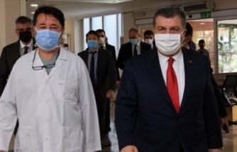 Bakan Koca İstanbul'daki temaslarına devam ediyor