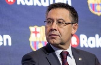 Barcelona'da şok istifa!