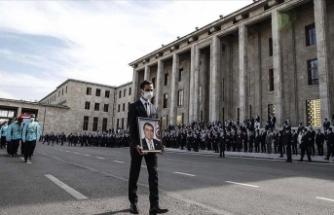 Eski Sağlık Bakanı için TBMM'de cenaze töreni düzenlendi
