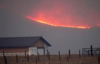 Eyaletteki yangınlar durdurulamıyor!