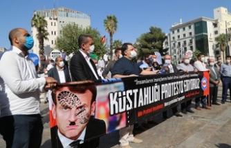 Fransa'nın İslam karşıtı tutumuna 5 ilde protesto