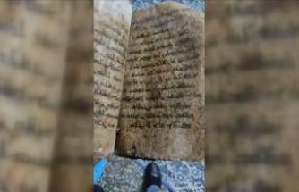 Gaziantep'te ele geçirilen İncil tarihi eser değilmiş