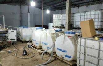 İstanbul'da 4,5 ton etil alkol ele geçirildi