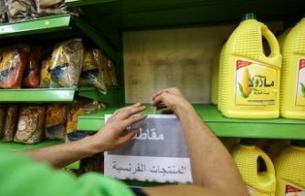 Tepkiler sürüyor: Marketler Fransız mallarının satışını durdurdu