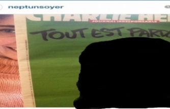 Tunç Soyer'in eşi Neptün Soyer'den Charlie Hebdo'nun skandal karikatürüne destek!