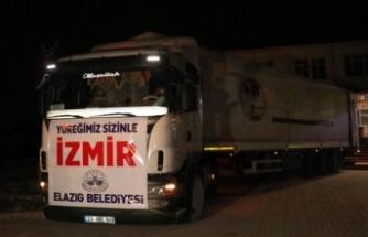 Türkiye'nin her yerinden İzmir'e destek yağıyor