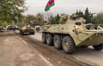 Azerbaycan Kelbecer'e girdi