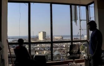 Beyrut'taki liman patlamasında evleri zarar görenlerin endişesi kışın gelmesi ile birlikte daha da arttı