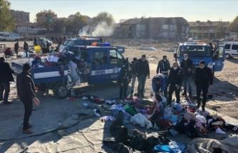 Bit pazarı'na polis müdahalesi