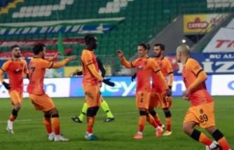 Galatasaray Rize'ye acımadı!